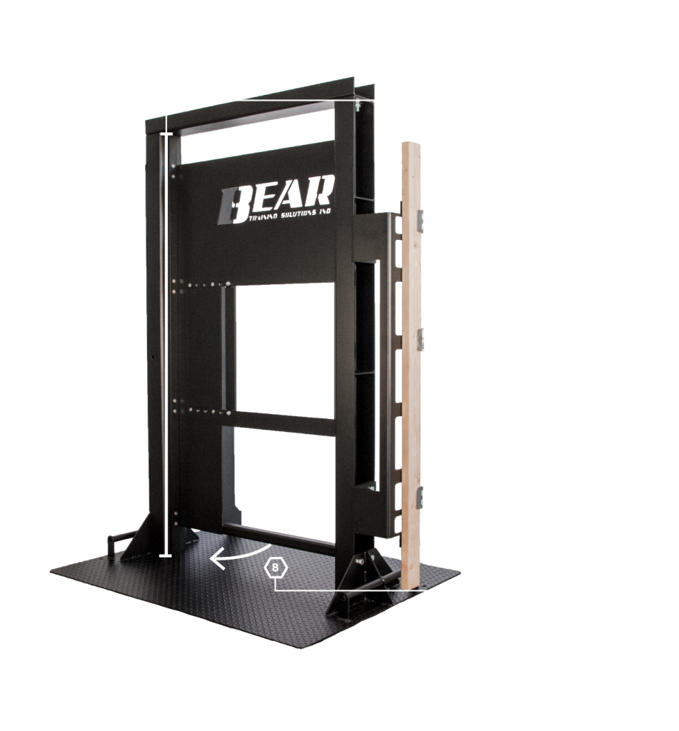 The Ultimate Training Door Showing features 6 - 8