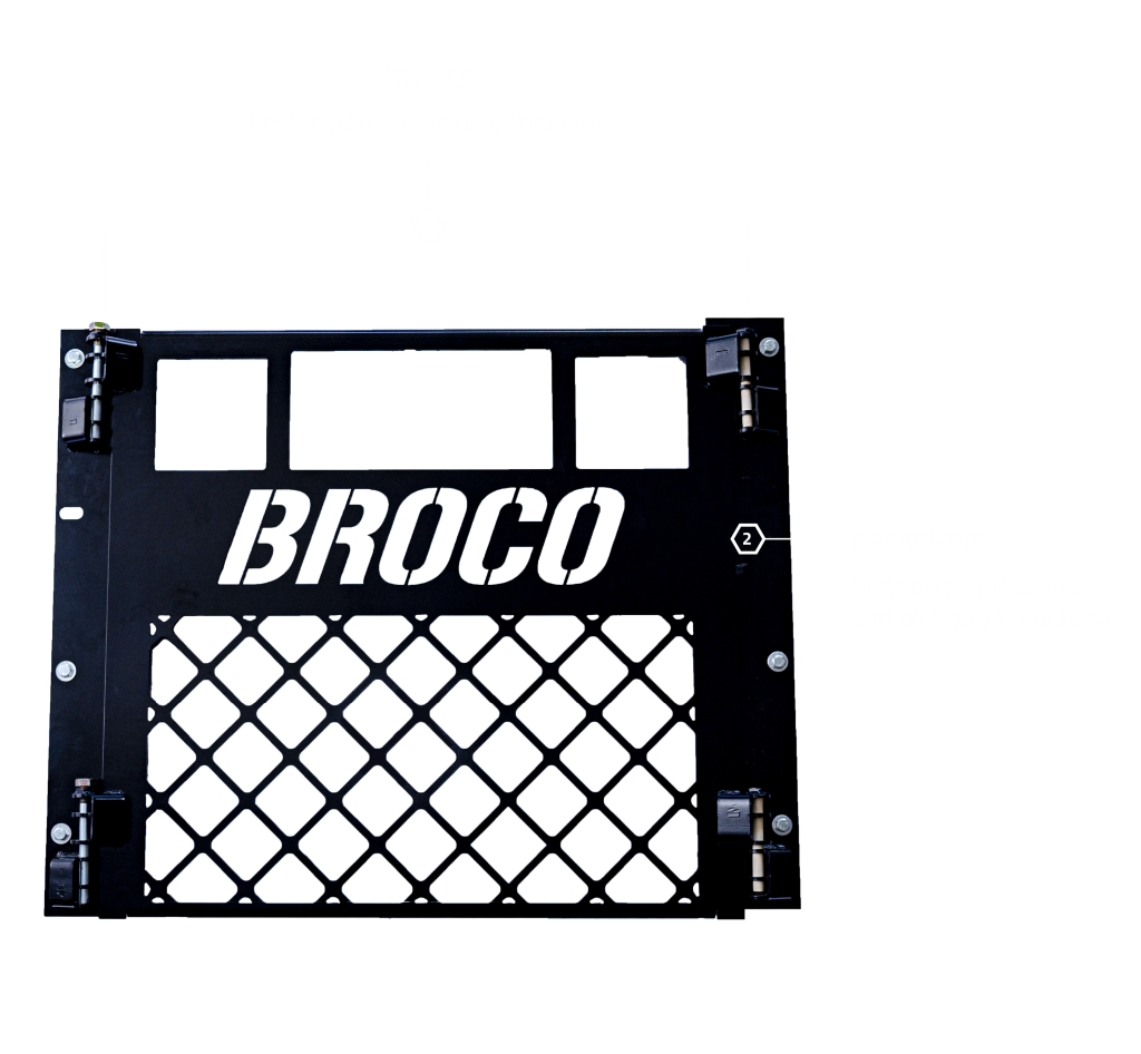 The Broco Screen Door Emulator as a stand-alone product, ready to be mounted to any 36